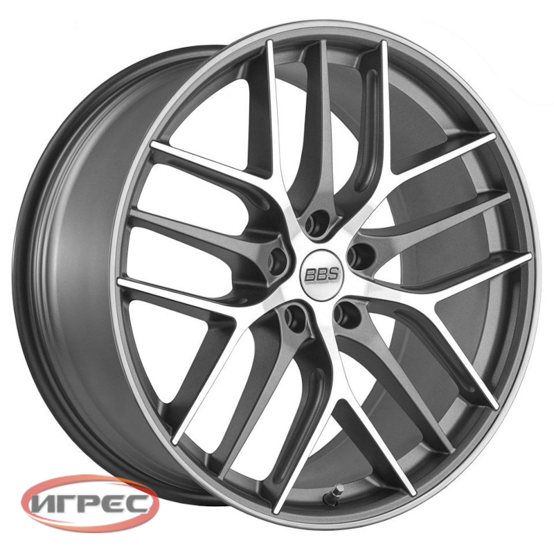 Купить диск BBS CC-R Graphite Diamond Cut