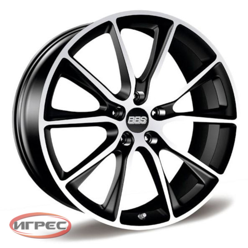 Купить диск BBS SV Satin Black Diamond Cut