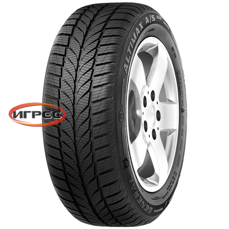 Купить шину General Tire Altimax A/S 365