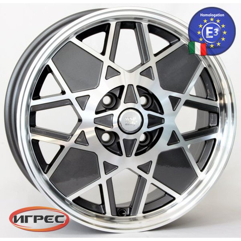 Купить диск WSP Italy Sport Restyling-W158 Anthracite Polished